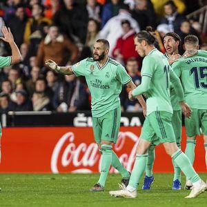 Ditahan Imbang Valencia 1-1, Real Madrid Gagal Gusur Barcelona