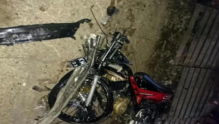 Foto: Motor milik pemotor tewas (Dok. Istimewa)