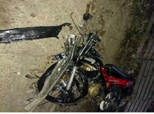 Hilang Kendali, Pemotor Tewas Tertabrak Mobil di Cianjur
