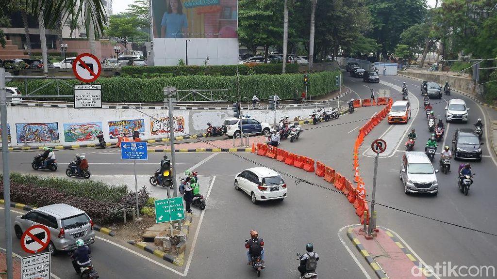 Sistem Satu Arah di Jalan RM Margono Djoyohadikoesoemo