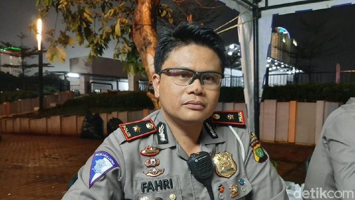 Kasubdit Gakkum Ditlantas Polda Metro Jaya, Kompol Fahri Siregar