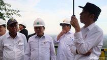 Jokowi Tinjau Titik Istana di Ibu Kota Baru di Kaltim