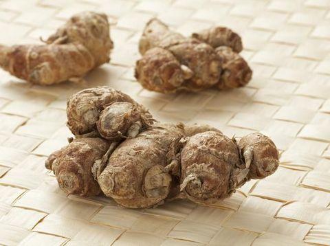 Fresh aromatic kencur rhizomes