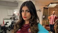 Eks Bintang Porno Mia Khalifa Duga Ledakan di Lebanon Konspirasi