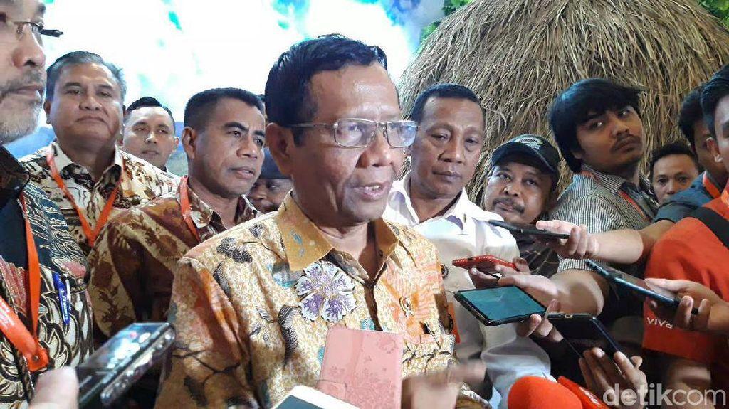 Mahfud Md: Usulan Pemekaran Papua Masih Belum Matang