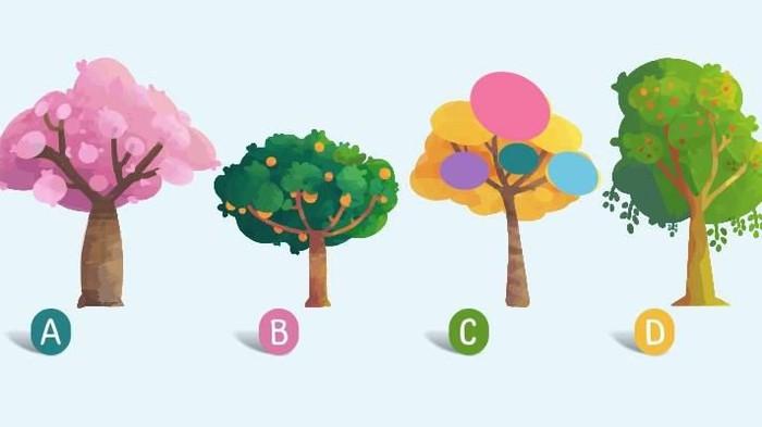 Tes Kepribadian Pilih Gambar Pohon Untuk Ungkap Sifat Aslimu