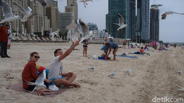 Ada Pantai Khusus Bikini di Pulau Buatan Dubai