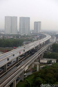 Tempat Aman Berhenti Darurat di Tol Layang Japek