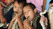 Foto: Penampakan Desa Kobra