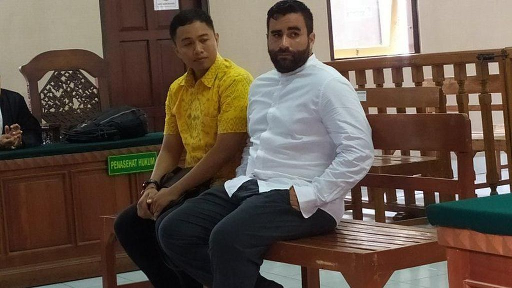 Bawa Kokain, WN Amerika Serikat di Bali Dituntut 14 Tahun Penjara
