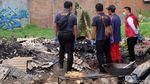 Sisa-sisa Kebakaran yang Tewaskan 3 Orang di Karawang