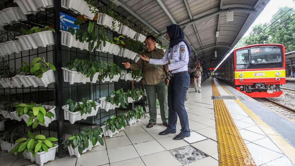 Begini Penampakan Stasiun Sudirman yang Ramah Lingkungan