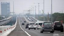 Tol Layang Jakarta-Cikampek Dibuka Kembali, Lalin Ramai Lancar