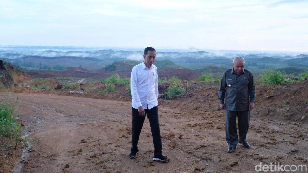Janji Jokowi: Ibu Kota Baru Anti Macet dan Banjir