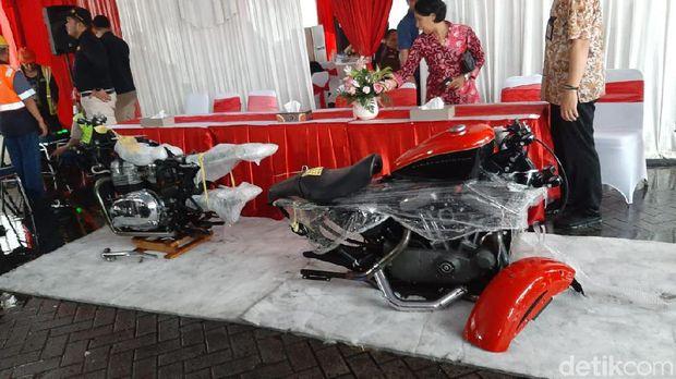 Penindakan mobil dan motor mewah