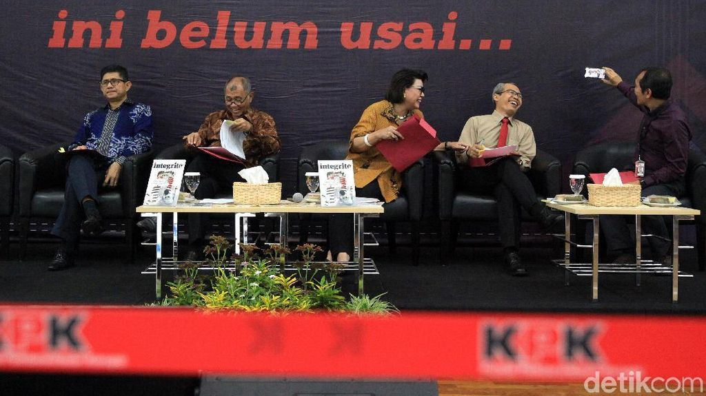 Pesan Agus Rahardjo cs ke Firli Bahuri dkk: Jangan SP3 Kasus Besar di KPK