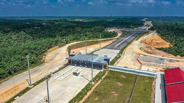 Ruas tol Pekanbaru-Dumai seksi I sepanjang 9 Km akan dibuka fungsional menyambut libur Natal & Tahun Baru. Ini Lho Penampakannya.