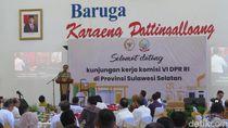 Terima Komisi VI DPR, Gubernur Sulsel Minta Penerangan Listrik di Pulau