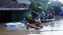 Video Banjir Luapan Citarum Kepung Pemukiman di Dayeuhkolot