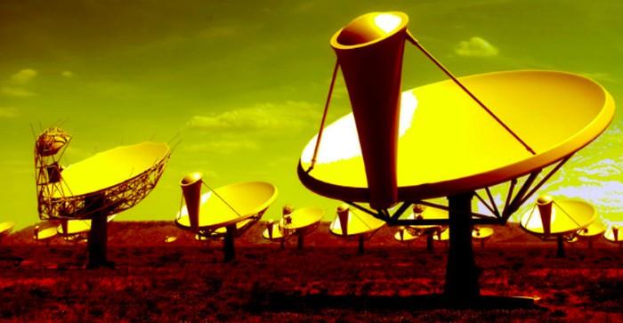 teleskop alien