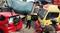 Tabrakan Beruntun di Bandung Barat, 6 Orang Dibawa ke Rumah Sakit