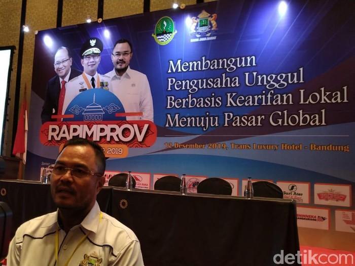 Ketua Kadin Jawa Barat Tatan Pria Sudjana