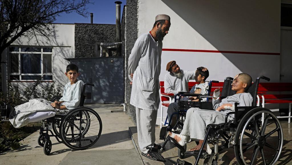 Potret Anak-anak Korban Perang Afghanistan