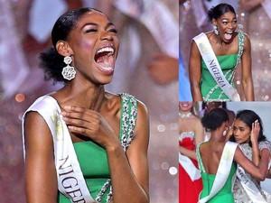 Viral, Ekspresi Emosional Miss Nigeria Saat Rivalnya Menang Miss World