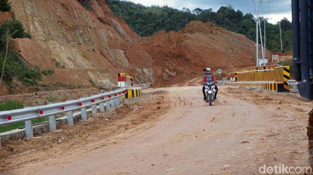 Jalan Perbatasan Malinau-Long Midang 200 Km Dikebut Tembus 2020