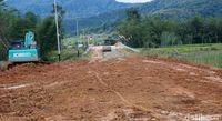Jalan akses perbatasan Malinau-Long Midang