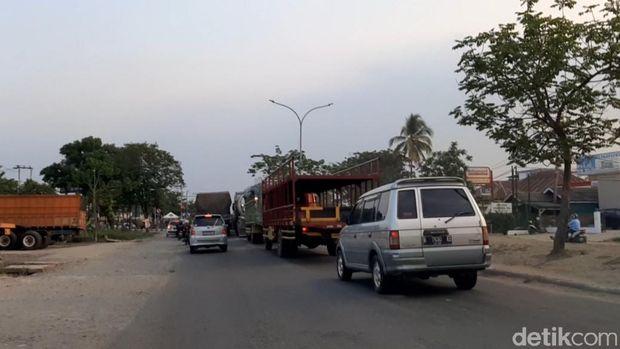 Simpang Macan Lindungan Palembang yang Jadi 'Neraka' Bagi Sopir Truk