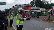 Polres Sukabumi Siagakan Personel di Titik Rawan Saat Nataru