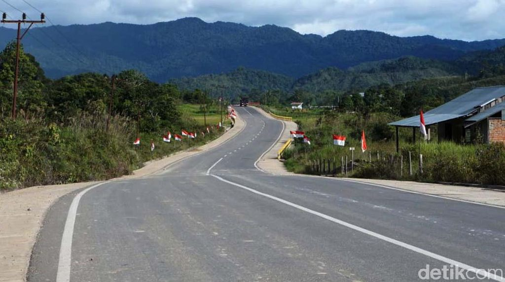 Bakal Dicek Jokowi, Ini Proyek Jalan Perbatasan RI-Malaysia