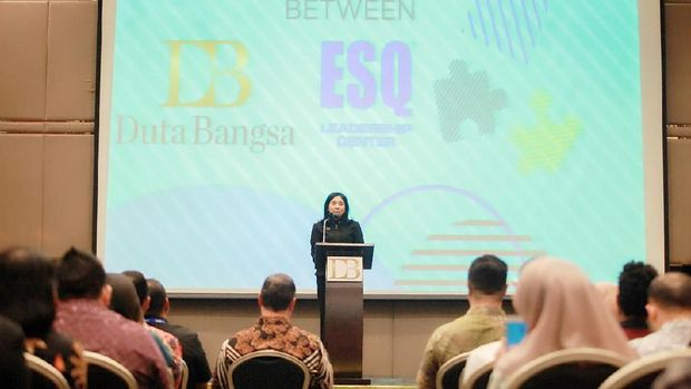 Duta Bangsa-ESQ Inisiasi Training 'How to Get Ready for a Bright Future'