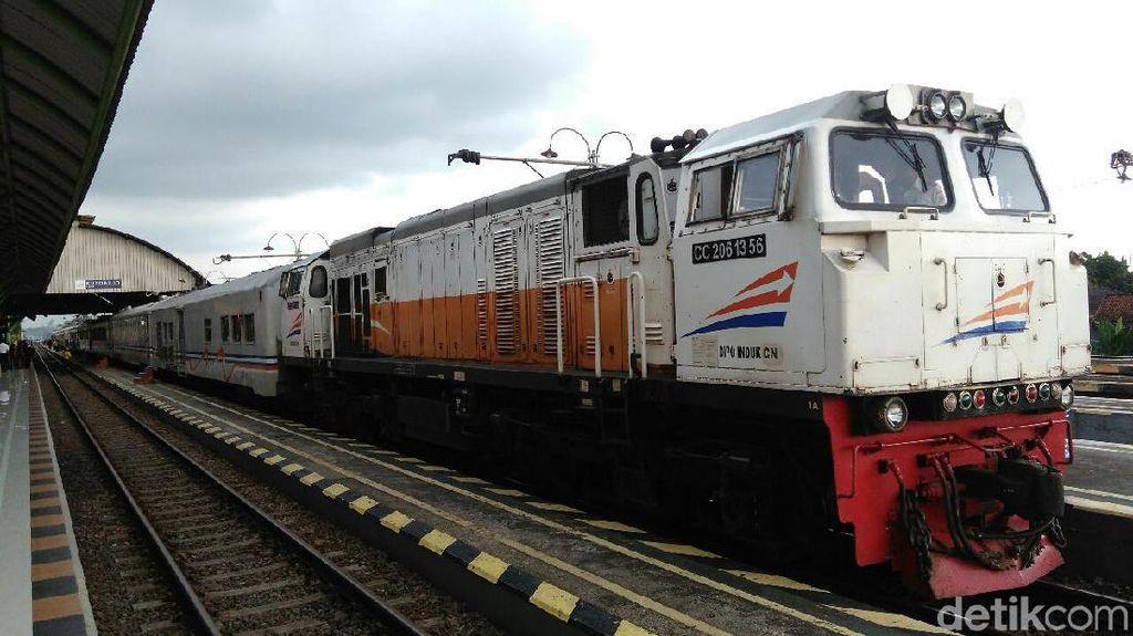 KA Pangrango, Siliwangi dan Lokal Merak Setop Perjalanan Mulai 1 April