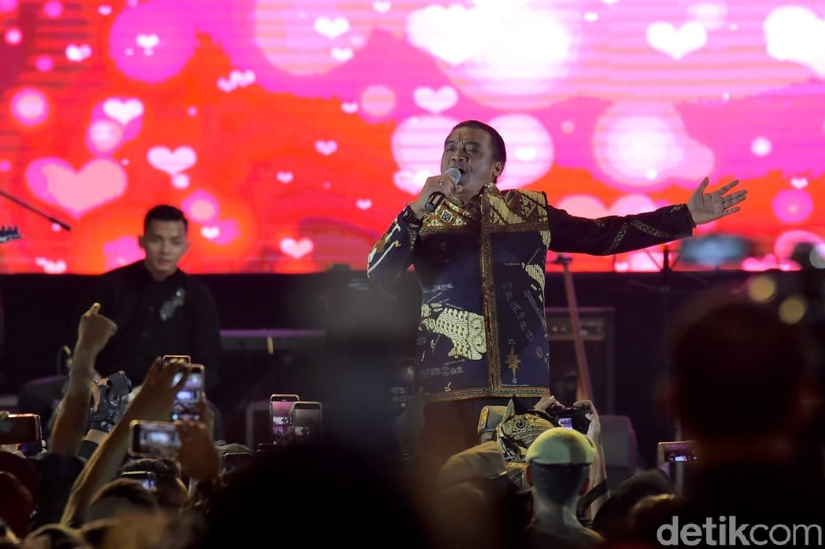 Didi Kempot konser di Banyuwangi