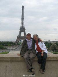 Zhang Guangzhu dan Wang Zhongjin backpacker keliling dunia