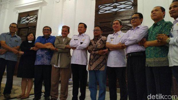 Pemkot Bogor dan Tim 7 GKI Yasmin.