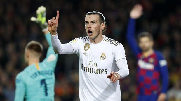Gareth Bale dirumorkan bakal hengkang dari Madrid.