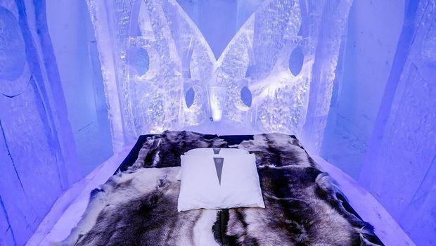 Brr.. Siapa Mau Menginap di Hotel yang Terbuat dari Es?