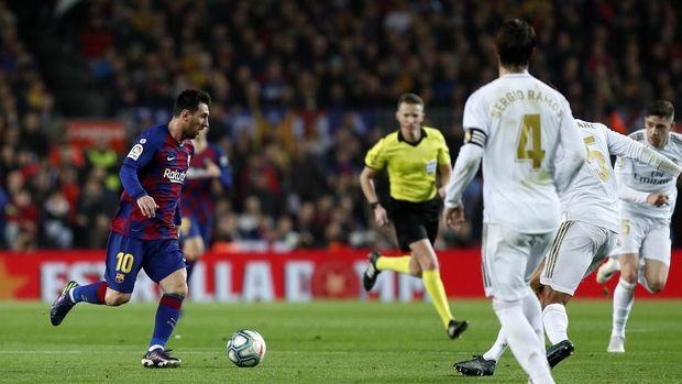 Man City Tujuan Messi jika Tinggalkan Barcelona