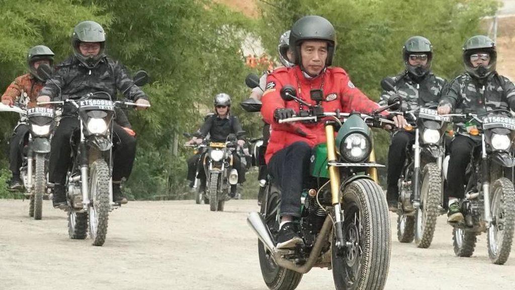 Motor-motor Custom Jokowi Hilang dari LHKPN, ke Mana Perginya?