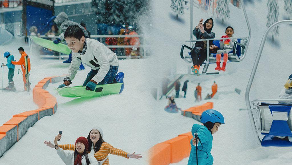 Yuk, Liburan Tahun Baru yang Menyenangkan di Trans Snow World Bintaro