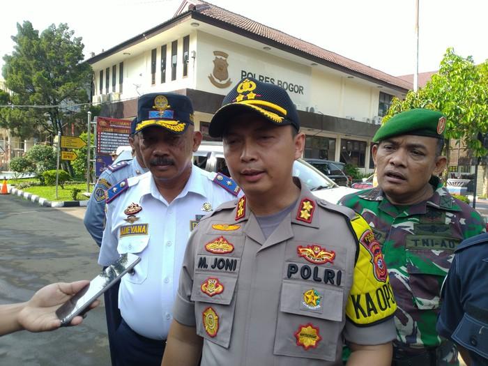 Kapolres Bogor AKBP Muhammad Joni (Sachril-detikcom)