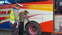 Ramp Check Bus di Bojonegoro, Ada PO Belum Bayar Premi Asuransi