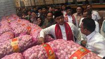 Jelang Natal, Anies Cek Pasokan Pangan Food Station