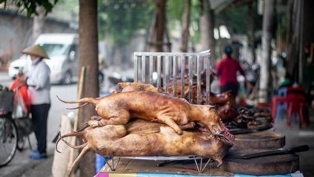 Hiii... Kebab di Vietnam Ini Dibuat dari Potongan Daging Anjing