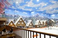 Berada di dalam Transpark Mall Bintaro, di sini kamu bisa main salju layaknya di negara empat musim. (Grandyos Zafna/detikcom)