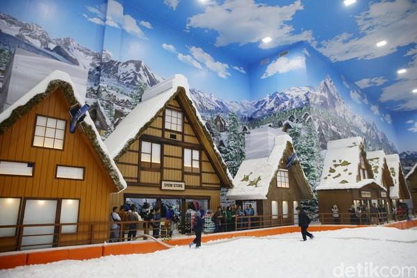 Trans Snow World Bintaro diproyeksikan akan menjadi ikon dan destinasi wisata internasional (Grandyos Zafna/detikcom)