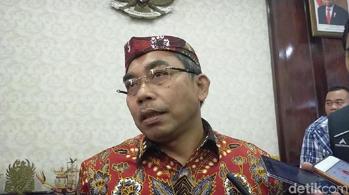 Ketua Fraksi DPRD DKI Gembong Warsono